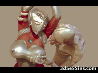 3d aliens ja monsters fuck tüdrukud!