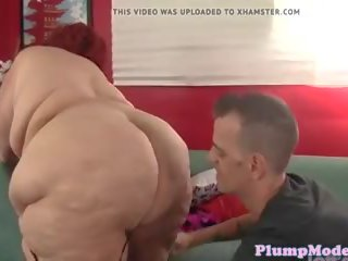 Fat Granny Doggystyled by Younger Cock, Porn 11