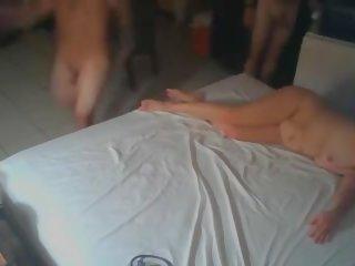hausgemachte gangbang porn