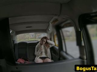 British Ginger Taxi Babe Fucked in Juicy Vag: Free Porn bf