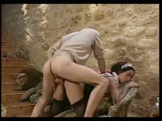 gruppen-sex, französisch, jahrgang, interracial