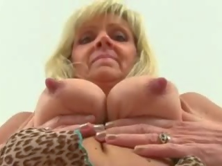 Mature Blonde Playing with Her Pussy, Porn 75