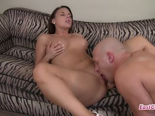 Christina Lyn loves football player cock