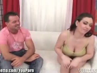 brunette more, check doggystyle fun, real blowjob