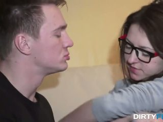 great brunette thumbnail, quality coed movie, new young video