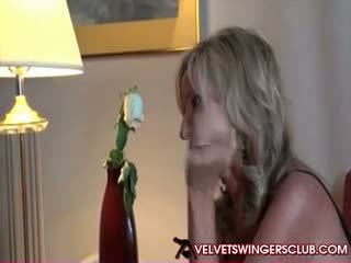 Swinger MILFs getting ready for Velvet svingers club party