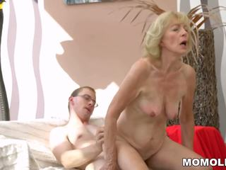 grannies, ideaal matures video-, oude + young