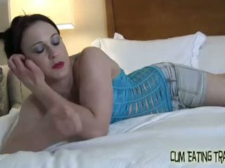 You will eat three loads of your own cum for us CEI
