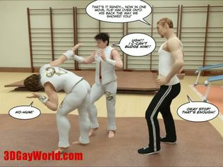 Kung fu guys 3d гей карикатура animated comics