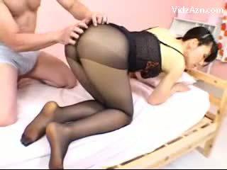 strumpbyxor, kinesiska, asiatisk