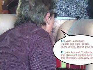 hoorndrager mov, lingerie video-, echt gangbang video-