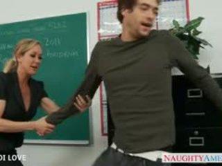 Pirang guru brandi love nunggang jago in kelas