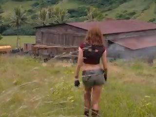 Karen Gillan Sexy Back, Free Celebrity HD Porn 9a