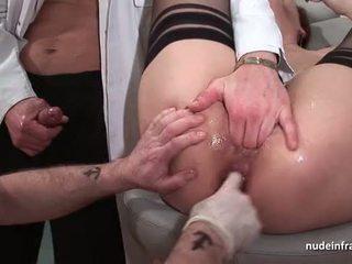 porno, meer neuken, spuitende video-
