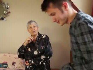 lama, gilf, lebih tua, nenek