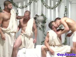 assfucking vid, homo- tube, echt spier mov
