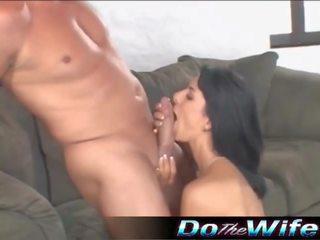 Hot Wife Fucks a Pornstud, Free Do The Wife Porn Video 1c