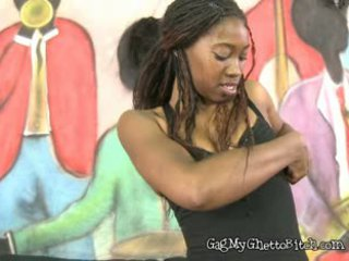 online pijpbeurt vid, u zwart en ebony tube, meer interraciale mov