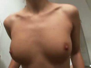 brunette video-, heetste realiteit klem, nominale hardcore sex porno