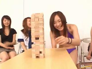 Exciting asijské skupina zábava