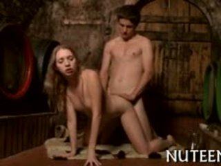 europese seks, controleren kleine tieten scène, u blond scène