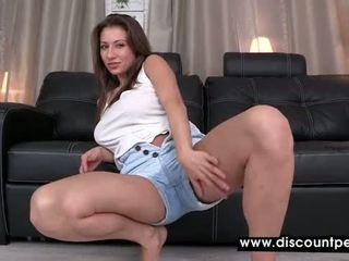 mooi brunette gepost, alle plassen porno, meest spuiten vid