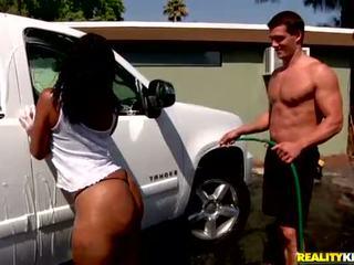 big ass, mooi ebbehout neuken, auto actie