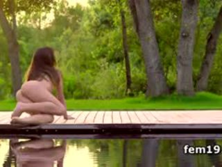 Lorena G And Belinda Making Out In The Park