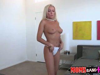 Sexy stepmom Diana Doll seduces stepson