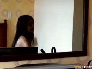 Beautiful Young Filipina Babe Ciara Enjoys Casual Morning