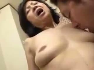 जापानी, परिपक्व, creampie, hd अश्लील