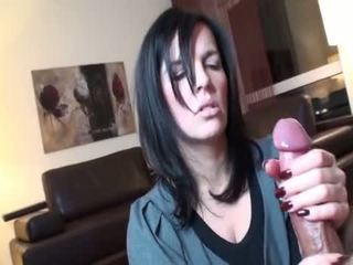 nominale brunette, vers orale seks thumbnail, nieuw deepthroat scène