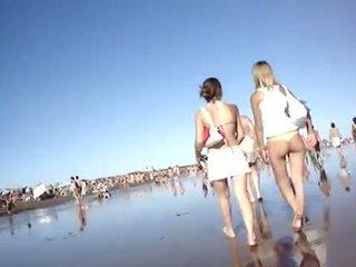beach, asses, bikini