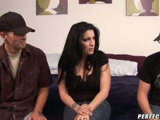 mmf video-, meest drietal klem, moms and boys scène