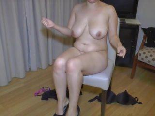 Pin Curled Chubby Sucks a Small Cock, Porn 9e