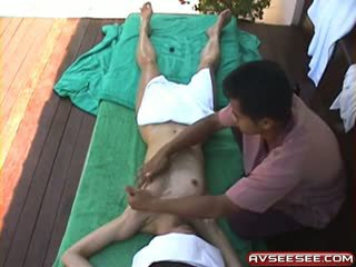 Hot Japanese Girl Massage Giving Techniques