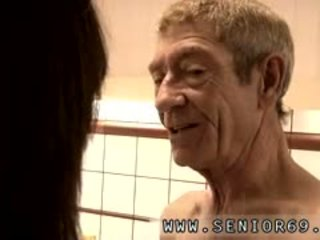 Very Teenage Vs Old Grandpa Girl Sex After Some Brief Test T