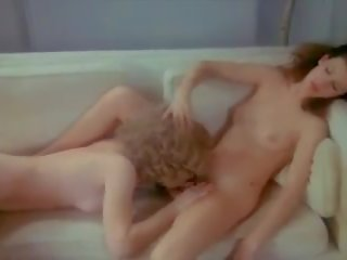 rated vintage, lesbian, online party clip