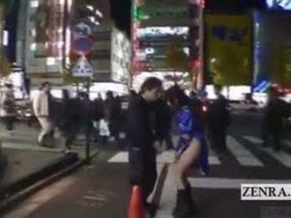 hq japanse film, publiek tube, een buiten- neuken