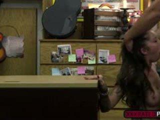 brunette seks, groot realiteit scène, doggystyle video-