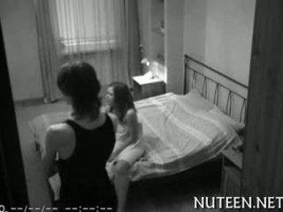 pijpbeurt, een verborgen cams, groot amateur seks