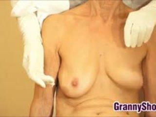 oma, echt volwassen film, vol fetisch mov