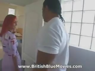 Donna Marie - British Interracial Gang Bang: Free Porn 4b