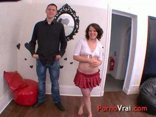 Incredible couple super excitee Elle jouie 3 fois !!! French amateur