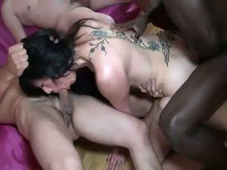 echt brunette neuken, dubbele penetratie video-, beste bbc seks