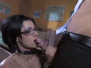 nominale brunette, kwaliteit orale seks tube, vaginale sex video-