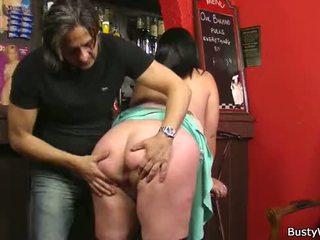 baas, zien office sex scène, heet op het werk vid