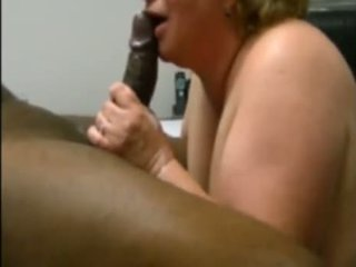 White Mature Wants Black Cum In Her Mouth
