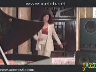 Rhona Mitra Riding Piano Teacher