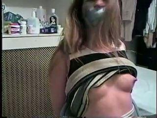 mond gesnoerd neuken, kwaliteit gebonden tube, zien gebonden neuken